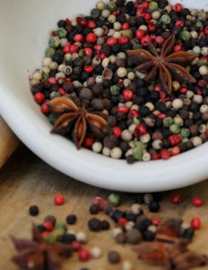 Pepper and star anise