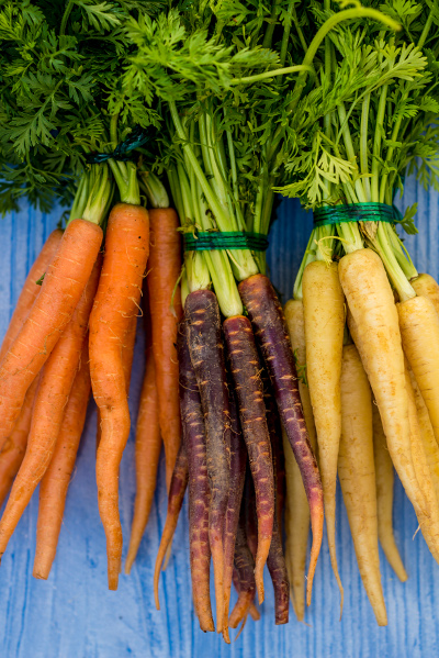 Mixed carrots